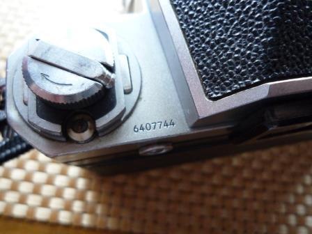 Nikon F 640初期型&専用革製ケース&バッグ&露出計2種&フォトミックファインダー&チックマーク5cmレンズ&フード&プロストラップ_画像8