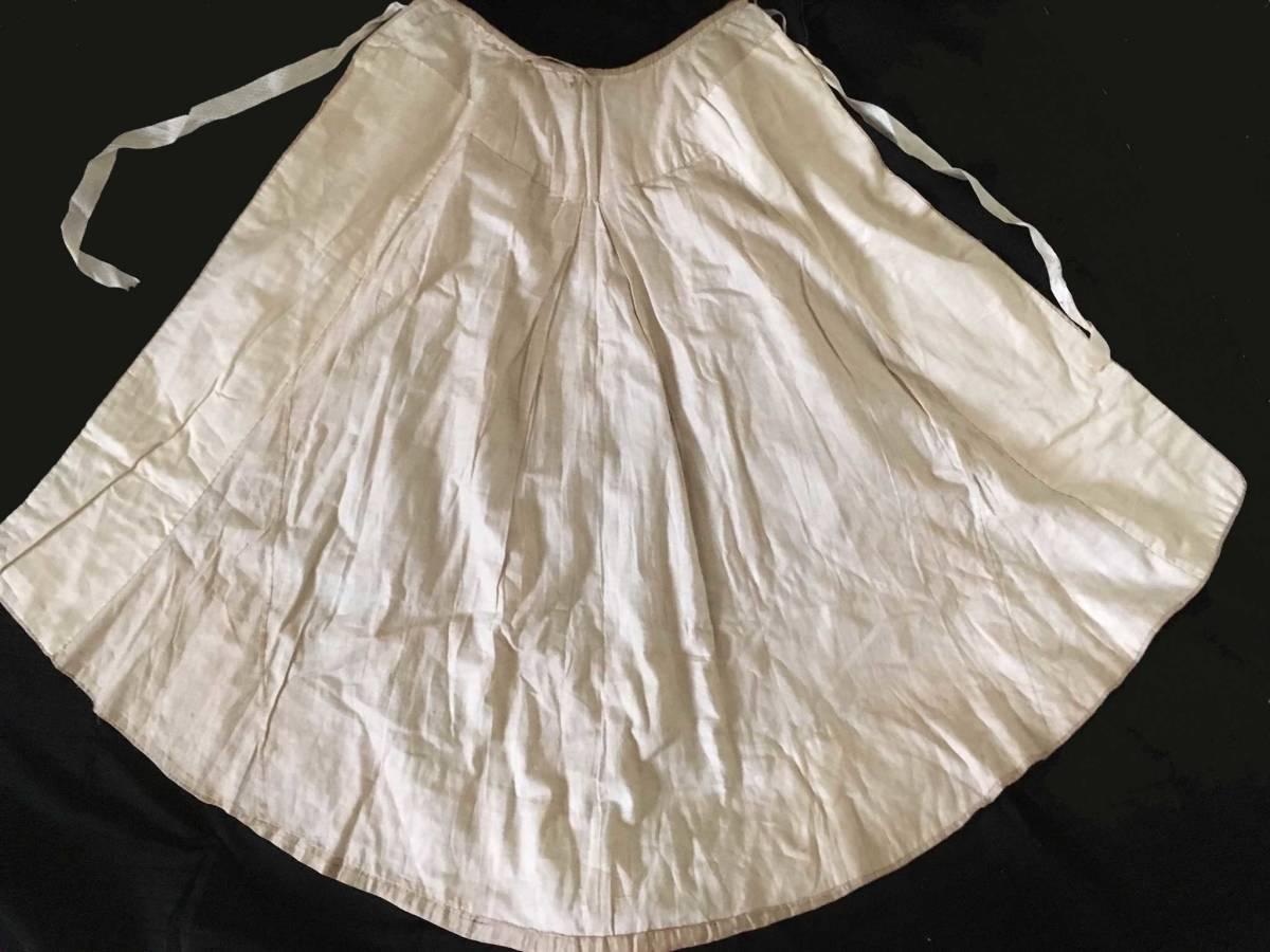 19世紀 アンティーク 子供用ケープ シルク ウール 全手縫い 服飾資料 ドール衣装、素材などに_画像3