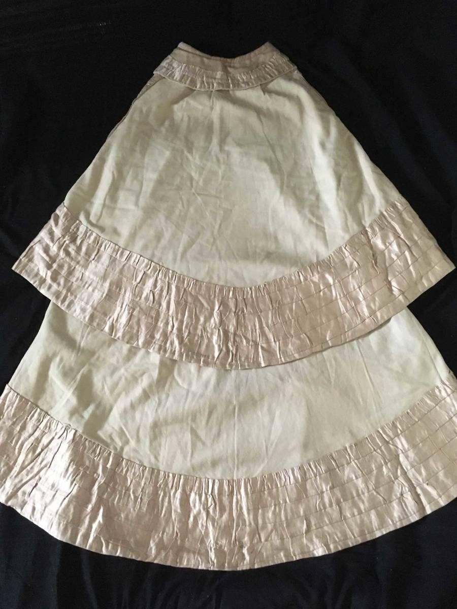 19世紀 アンティーク 子供用ケープ シルク ウール 全手縫い 服飾資料 ドール衣装、素材などに_画像2