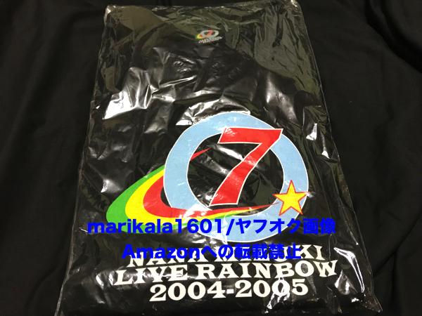 新品 水樹奈々 LIVE RAINBOW 2004-2005 Tシャツ 黒 フリーサイズ