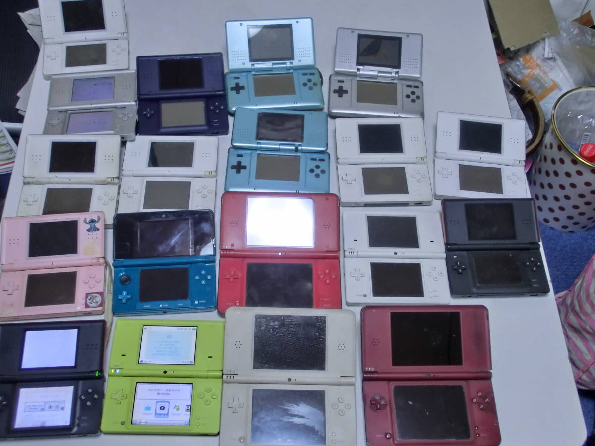 ◎Nintendo 任天堂 ニンテンドー 3DS&DSi LL&DSi&DSlite&DSi 本体 19台セット ジャンク ◆