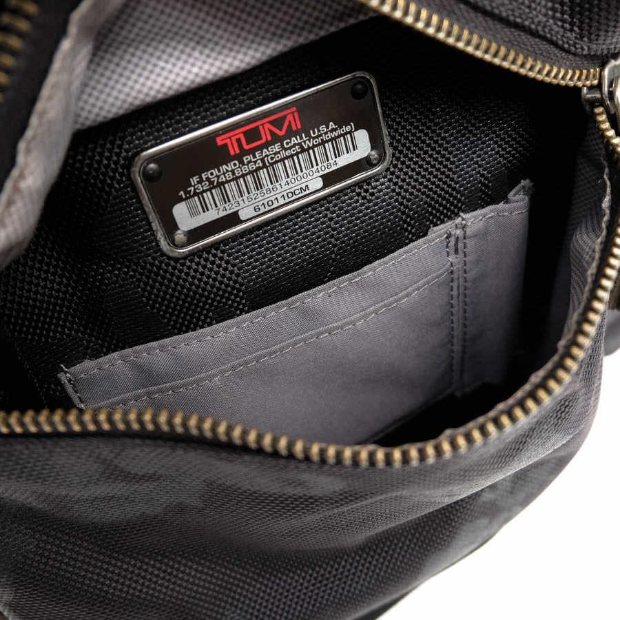 TUMI トゥミ ビジネスバッグ ブリーフケース 鞄 61011DCM DALSTON Acer Slim Zip Brief ダルストン メンズ レザー 革 ナイロン c2123_画像9