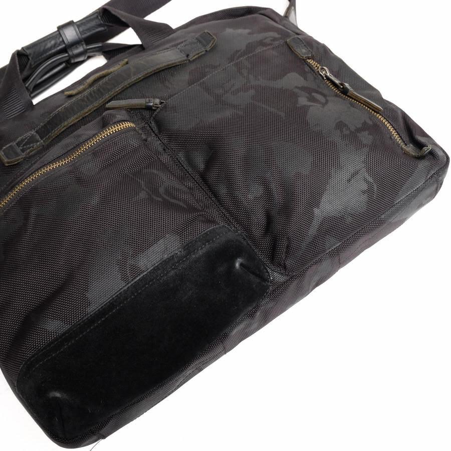 TUMI トゥミ ビジネスバッグ ブリーフケース 鞄 61011DCM DALSTON Acer Slim Zip Brief ダルストン メンズ レザー 革 ナイロン c2123_画像5