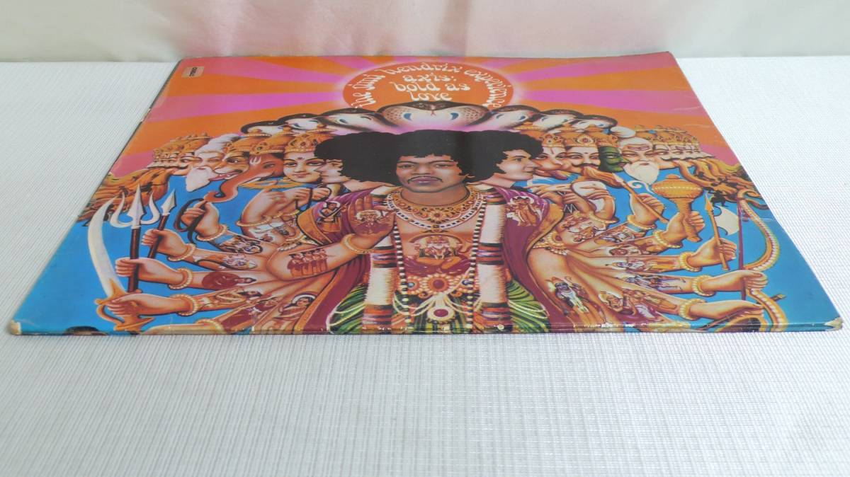 ★UK TRACK盤!! JIMI HENDRIX EXPERIENCE★AXIS/BOLD AS LOVE UK TRACK STEREO LP_画像7
