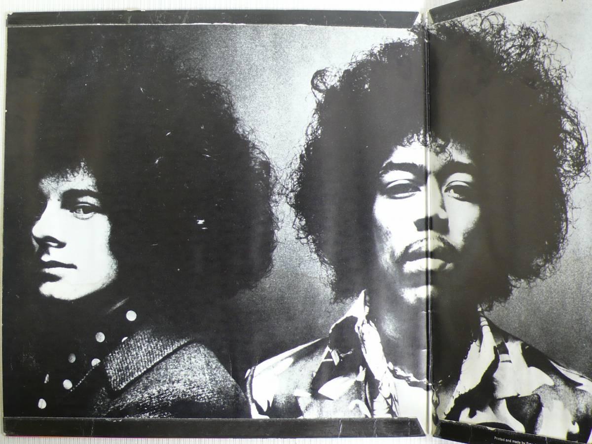 ★UK TRACK盤!! JIMI HENDRIX EXPERIENCE★AXIS/BOLD AS LOVE UK TRACK STEREO LP_画像3