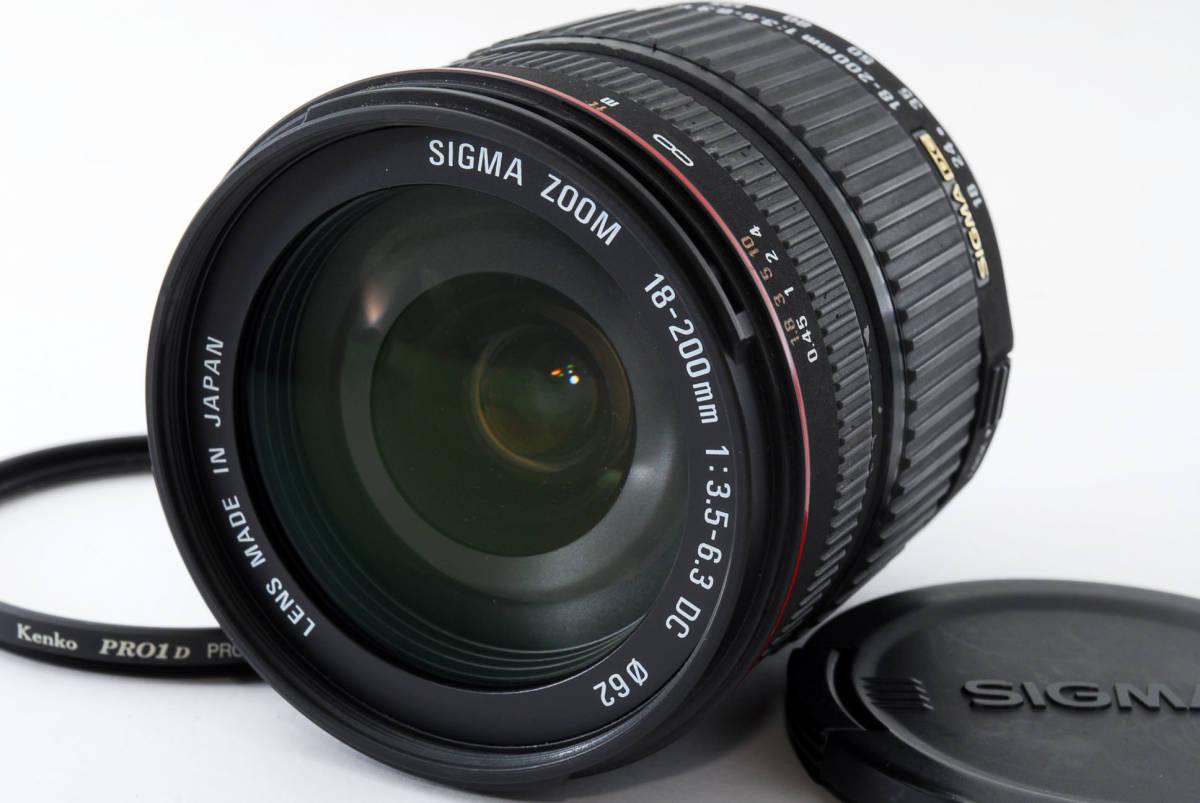 ★良品★SIGMA シグマ ZOOM 18-200mm F3.5-6.3 D DC NIKON ニコン #94
