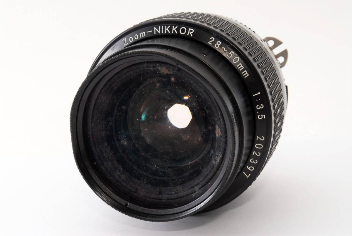 ★実用美品★NIKON ニコン ai-s 28-50 f3.5 #109