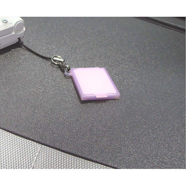 new goods free postage UV sensor attaching mobile Mini compact mirror with strap made in Japan ultra-violet rays measures Point ..