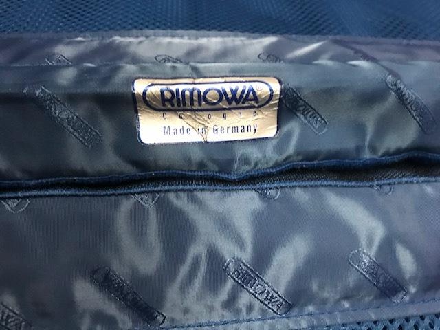 廃盤レア☆リモワ スーツケース トパーズ RIMOWA SILVER INTEGRAL TSAロック付き 4輪 シルバーインテグラル_画像9
