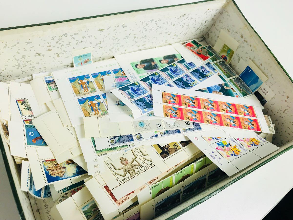 未使用 切手 まとめて 総額325,511円 シート お年玉切手 記念切手 普通切手 昭和切手 平成切手 大量 まとめてセット_画像2