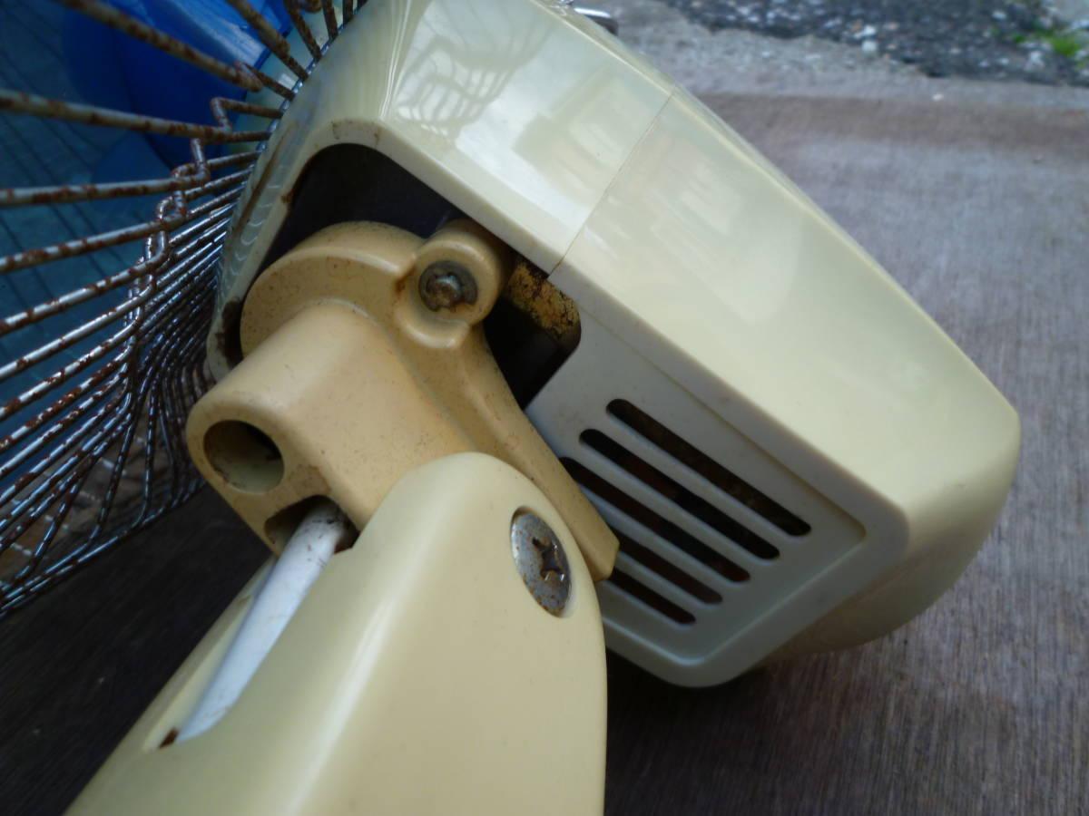 M5496 retro 扇風機 森田電工株式会社 MF-30AS ジャンク 電源確認済み (3007) _画像9