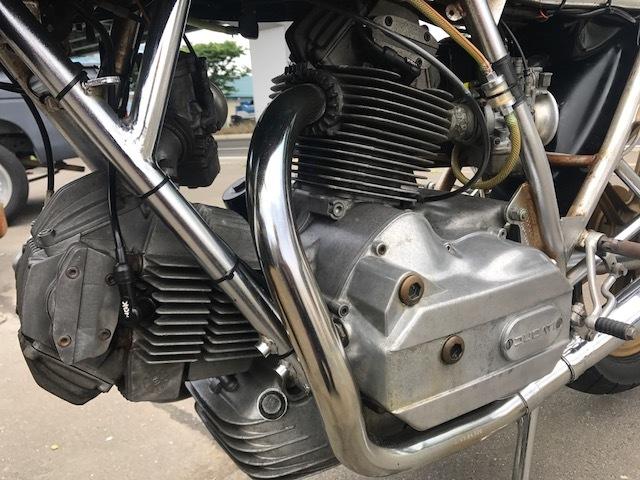 ドゥカティ900MHR カフェレーサー仕様 希少車 エンジン始動OK キック数発 名車 旧車_画像4