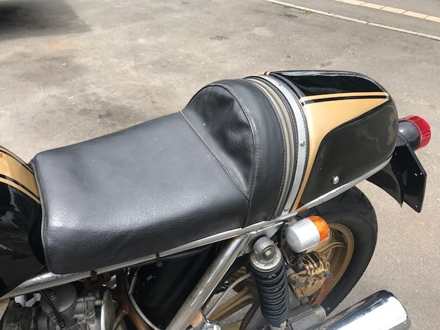ドゥカティ900MHR カフェレーサー仕様 希少車 エンジン始動OK キック数発 名車 旧車_画像6