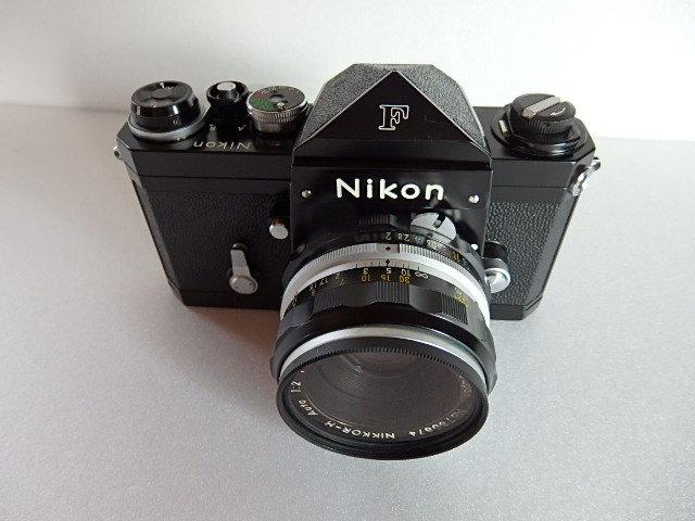ニコンF Nikon F アイレベル ブラック_画像2