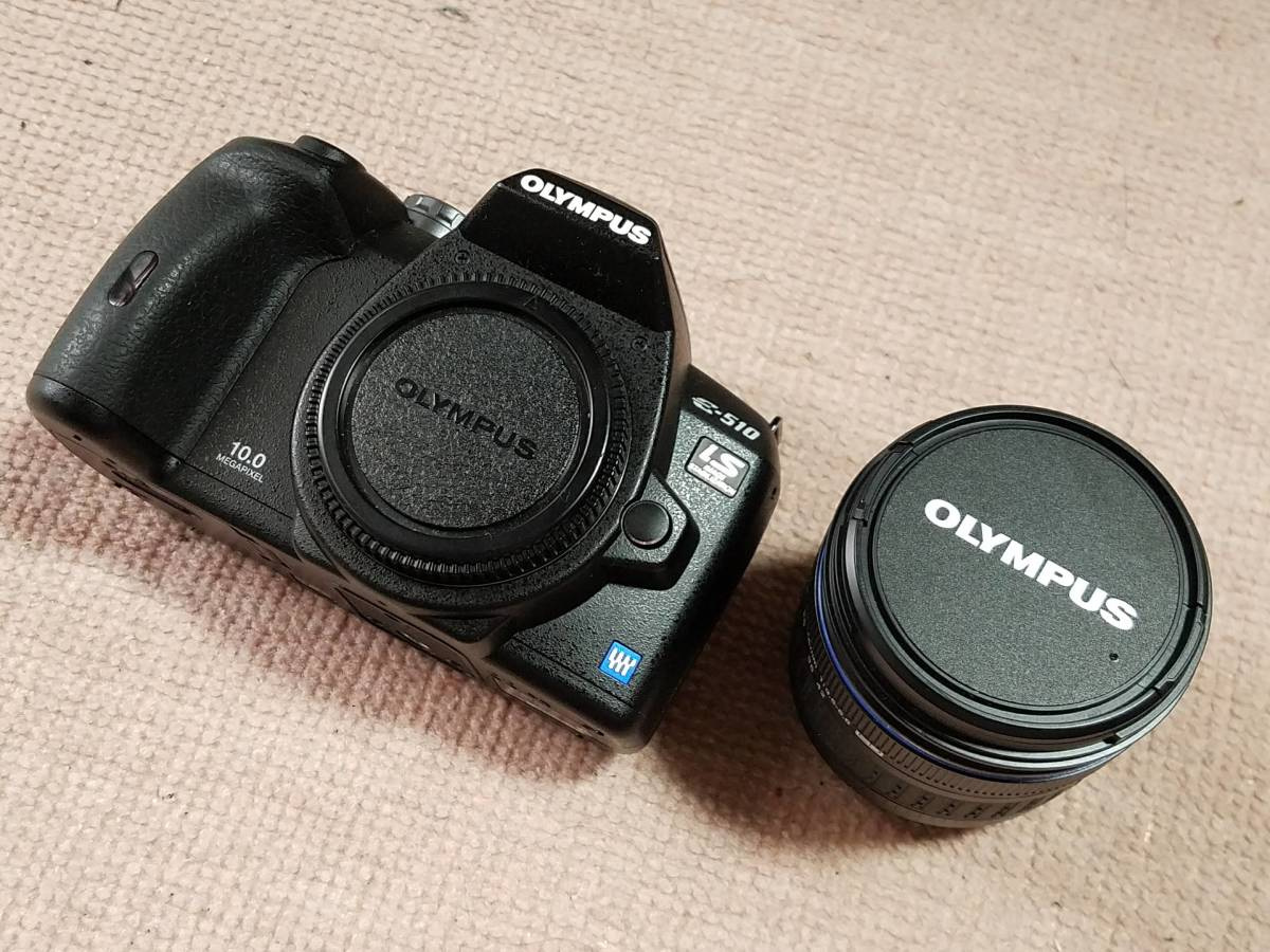 OLYPUS(オリンパス) E-510(is) ZUIKO DIGTAL14-42mm F3.5-5.6 レンズキット 中古_画像2