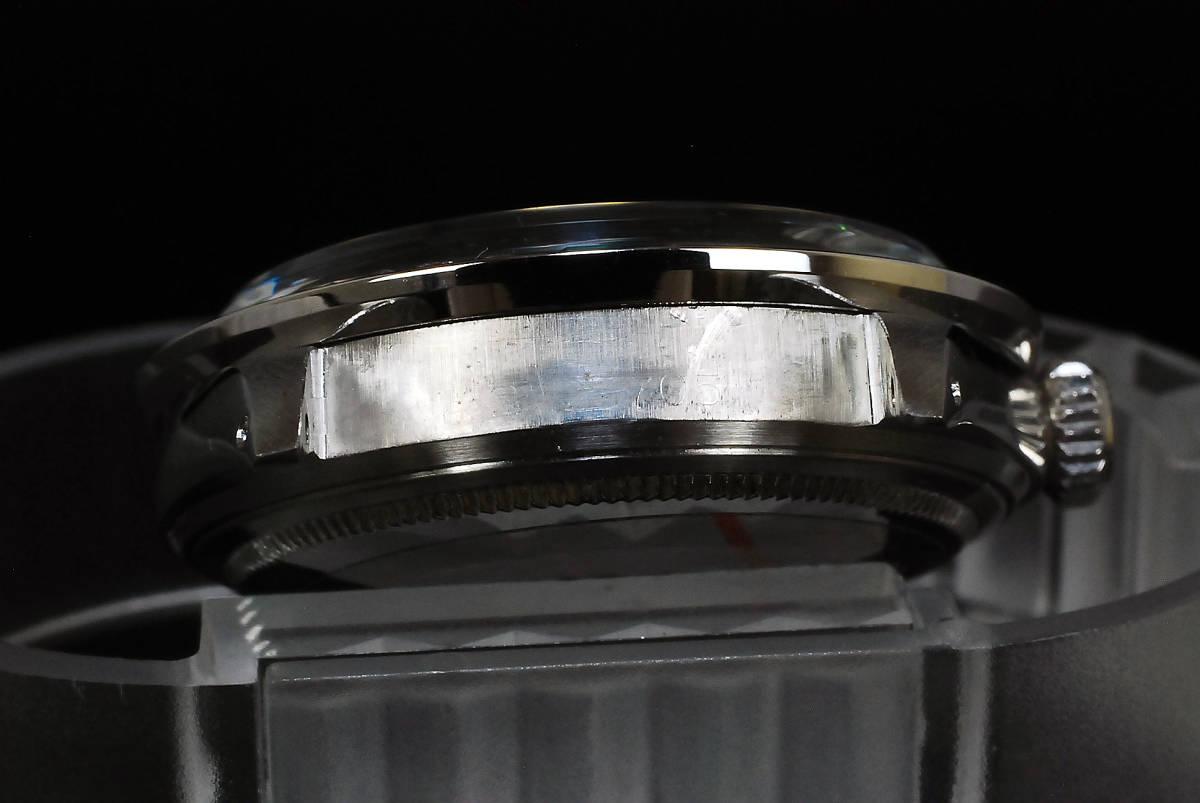 2年保証 白 ホワイトシェル ロレックス デイトジャスト 8+2P 天然エメラルド/ダイヤ Ref.1601 Cal.1570 OH済 仕上済 ROLEX メンズ 極美品_画像9