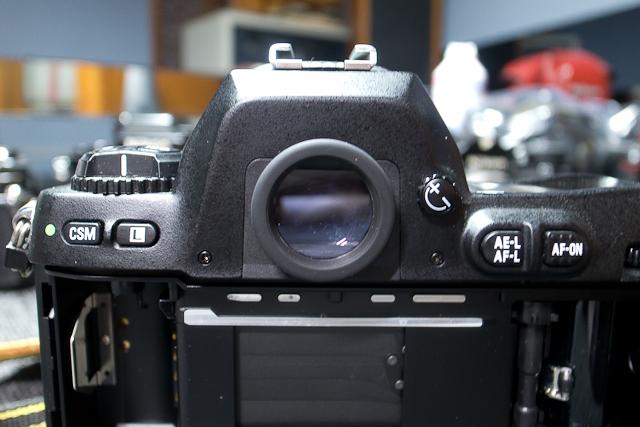 ニコン Nikon AF 80-200/2.8 ED D カメラ修理専門店にてレンズ清掃メンテ品 f100カメラボディー付き_画像6