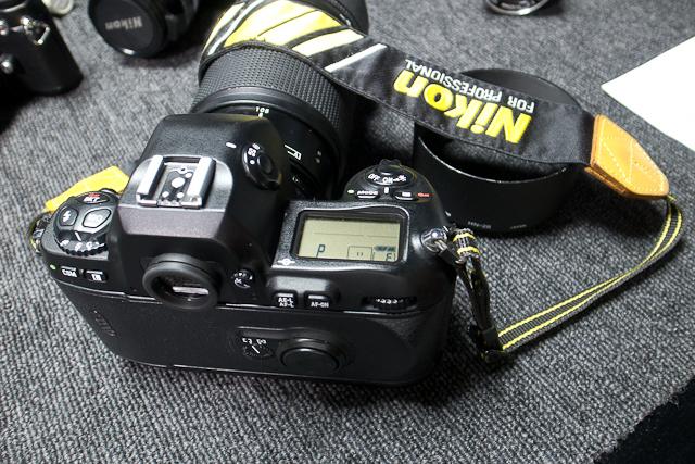 ニコン Nikon AF 80-200/2.8 ED D カメラ修理専門店にてレンズ清掃メンテ品 f100カメラボディー付き_画像7