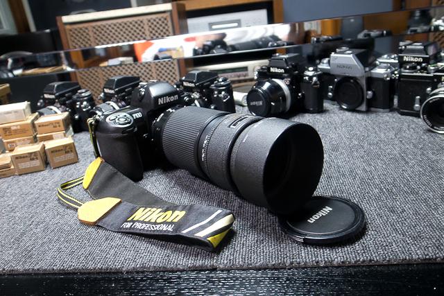 ニコン Nikon AF 80-200/2.8 ED D カメラ修理専門店にてレンズ清掃メンテ品 f100カメラボディー付き_画像8