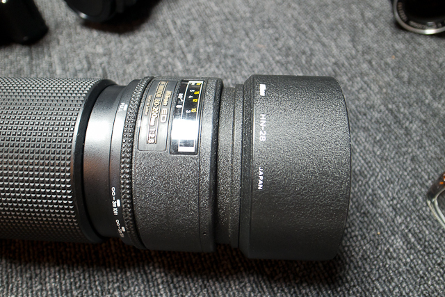 ニコン Nikon AF 80-200/2.8 ED D カメラ修理専門店にてレンズ清掃メンテ品 f100カメラボディー付き_画像9
