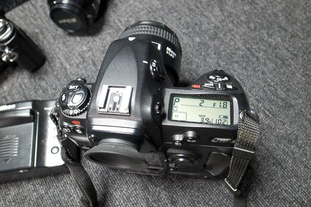ニコン Nikon D2X ボディ 憧れのプロ機 現状品 AF NIKKOR 85mm 1.8D 7/7カメラ修理専門店にてレンズクリーニング品_画像6