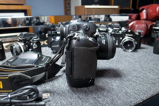 ニコン Nikon D2X ボディ 憧れのプロ機 現状品 AF NIKKOR 85mm 1.8D 7/7カメラ修理専門店にてレンズクリーニング品_画像7