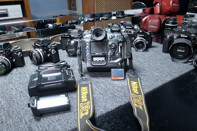ニコン Nikon D2X ボディ 憧れのプロ機 現状品 AF NIKKOR 85mm 1.8D 7/7カメラ修理専門店にてレンズクリーニング品_画像8