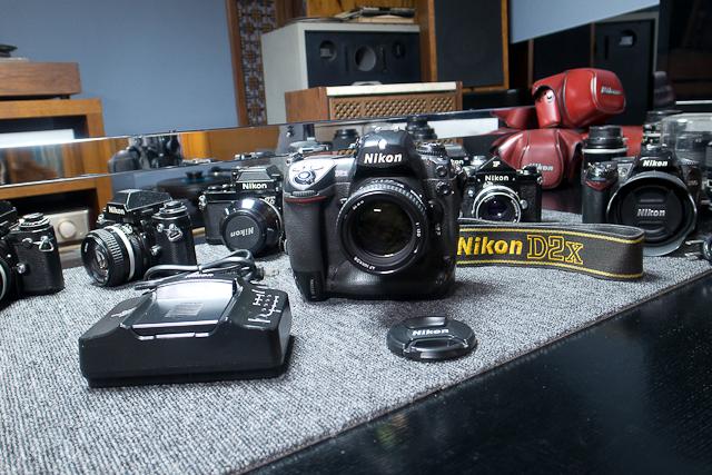 ニコン Nikon D2X ボディ 憧れのプロ機 現状品 AF NIKKOR 85mm 1.8D 7/7カメラ修理専門店にてレンズクリーニング品_画像9