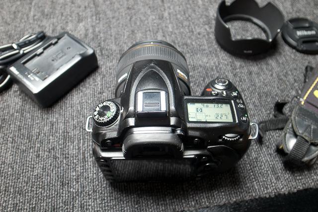 Nikon ニコン D90 デジタル一眼レフカメラ 6月カメラ修理専門店にてセンサー清掃動作チェック済み シグマ EX DC HSM 30mm1.4付_画像4