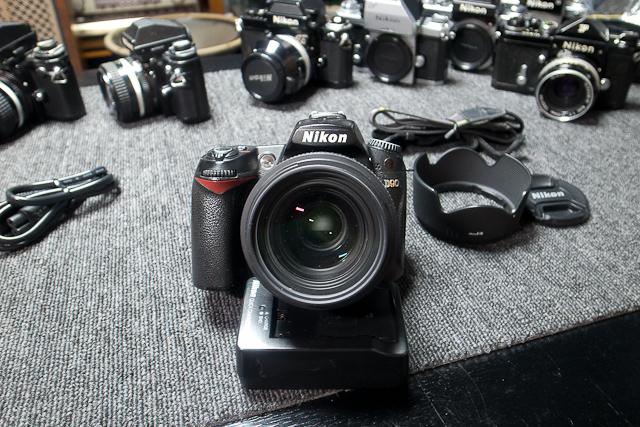 Nikon ニコン D90 デジタル一眼レフカメラ 6月カメラ修理専門店にてセンサー清掃動作チェック済み シグマ EX DC HSM 30mm1.4付_画像6