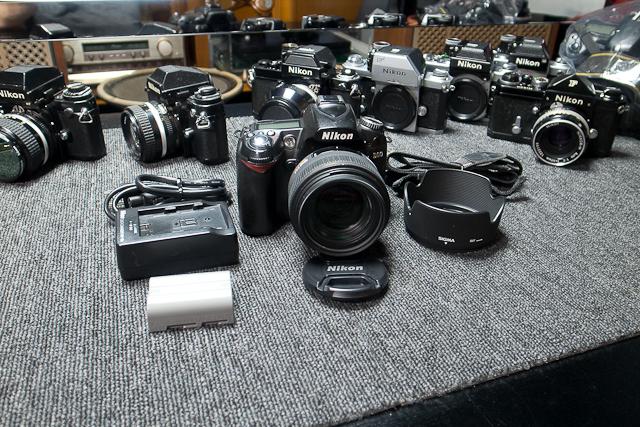Nikon ニコン D90 デジタル一眼レフカメラ 6月カメラ修理専門店にてセンサー清掃動作チェック済み シグマ EX DC HSM 30mm1.4付_画像7