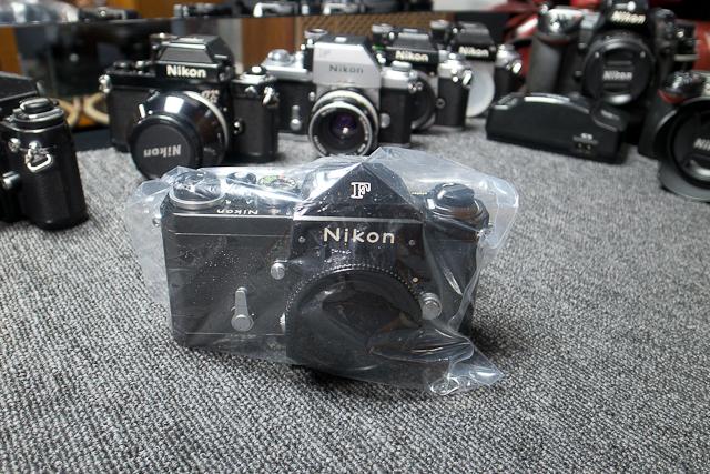 永遠の名機 Nikon ニコンF ブラックボディー 6839319 7/7カメラ修理専門店にてメンテ品
