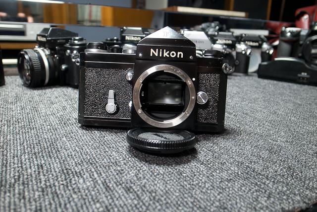 永遠の名機 Nikon ニコンF ブラックボディー 6839319 7/7カメラ修理専門店にてメンテ品_画像3