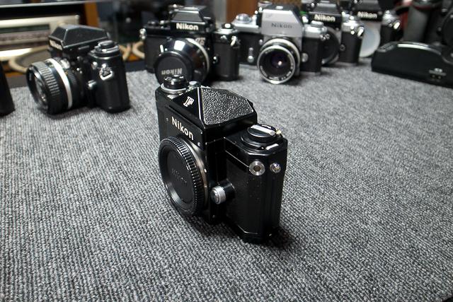 永遠の名機 Nikon ニコンF ブラックボディー 6839319 7/7カメラ修理専門店にてメンテ品_画像4