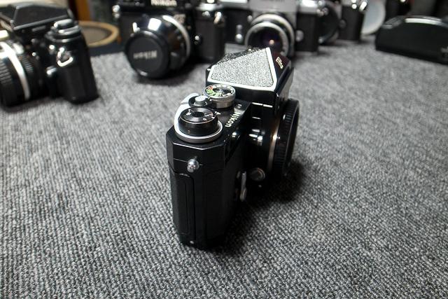 永遠の名機 Nikon ニコンF ブラックボディー 6839319 7/7カメラ修理専門店にてメンテ品_画像5