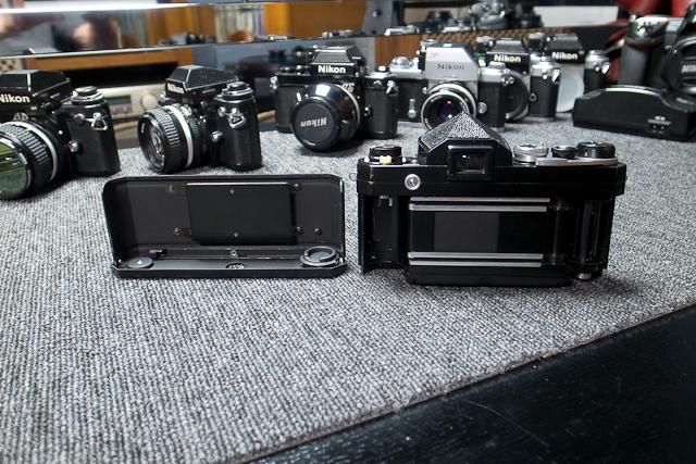 永遠の名機 Nikon ニコンF ブラックボディー 6839319 7/7カメラ修理専門店にてメンテ品_画像6
