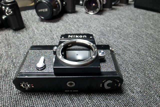 永遠の名機 Nikon ニコンF ブラックボディー 6839319 7/7カメラ修理専門店にてメンテ品_画像8