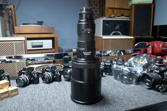 シグマ SIGMA APO 500mm F4.5 ニコン用 べたつき カビあり 現状品