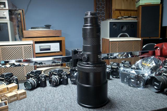 シグマ SIGMA APO 500mm F4.5 ニコン用 べたつき カビあり 現状品_画像3