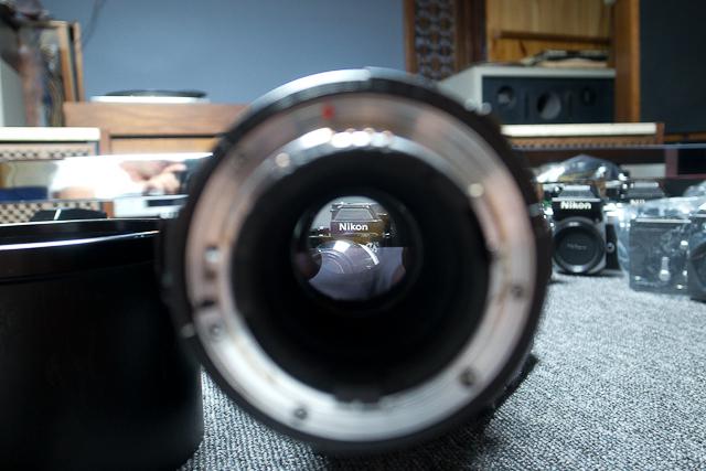 シグマ SIGMA APO 500mm F4.5 ニコン用 べたつき カビあり 現状品_画像4
