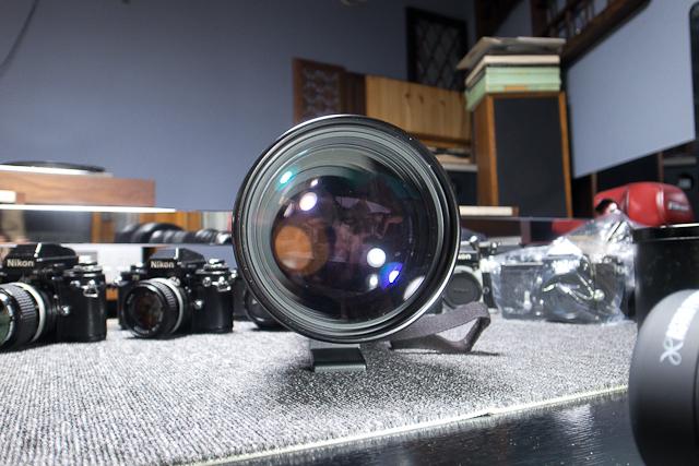 シグマ SIGMA APO 500mm F4.5 ニコン用 べたつき カビあり 現状品_画像5
