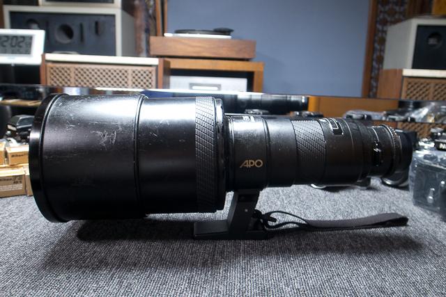 シグマ SIGMA APO 500mm F4.5 ニコン用 べたつき カビあり 現状品_画像6