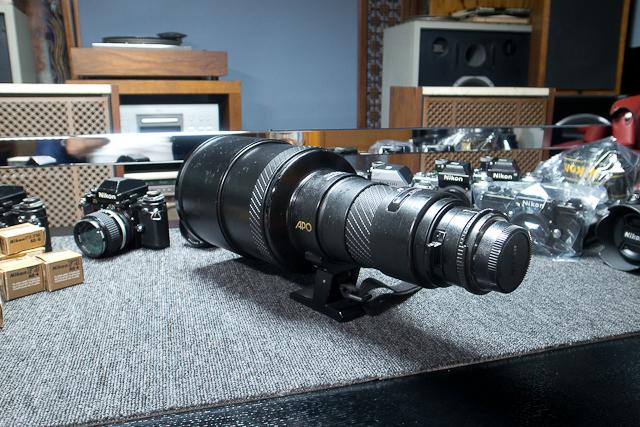シグマ SIGMA APO 500mm F4.5 ニコン用 べたつき カビあり 現状品_画像7