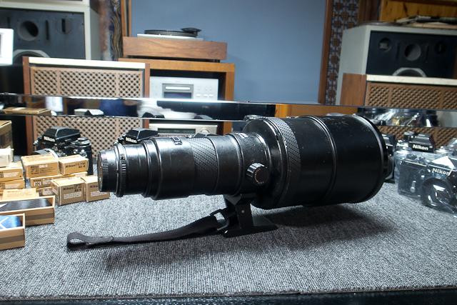 シグマ SIGMA APO 500mm F4.5 ニコン用 べたつき カビあり 現状品_画像8