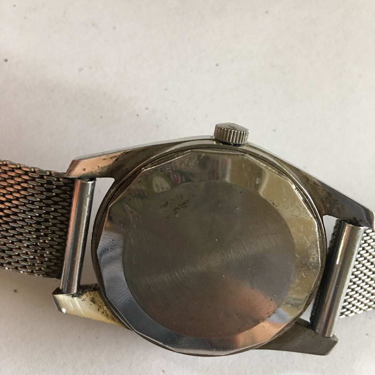 IWC インターナショナル ウォッチカンパニー SS 自動巻き デイト ラウンド アンティーク メンズ 腕時計 管理番号01_画像5