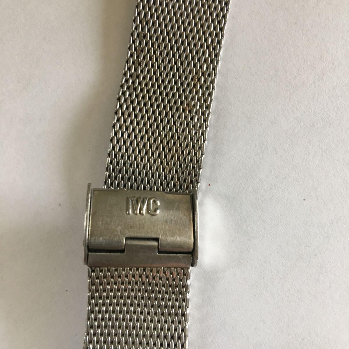 IWC インターナショナル ウォッチカンパニー SS 自動巻き デイト ラウンド アンティーク メンズ 腕時計 管理番号01_画像2
