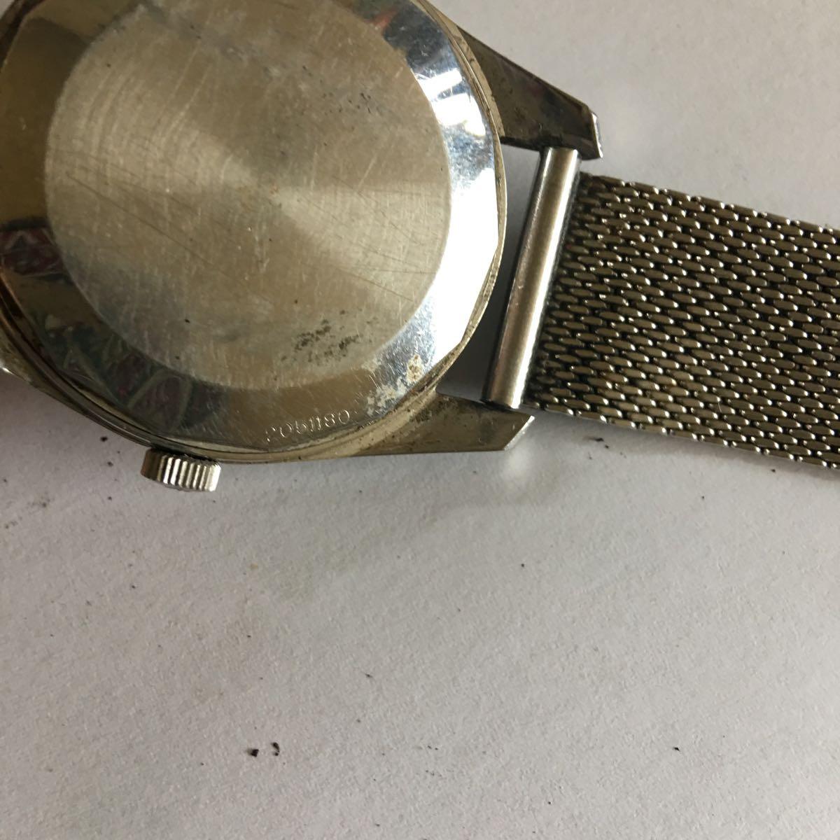 IWC インターナショナル ウォッチカンパニー SS 自動巻き デイト ラウンド アンティーク メンズ 腕時計 管理番号01_画像6