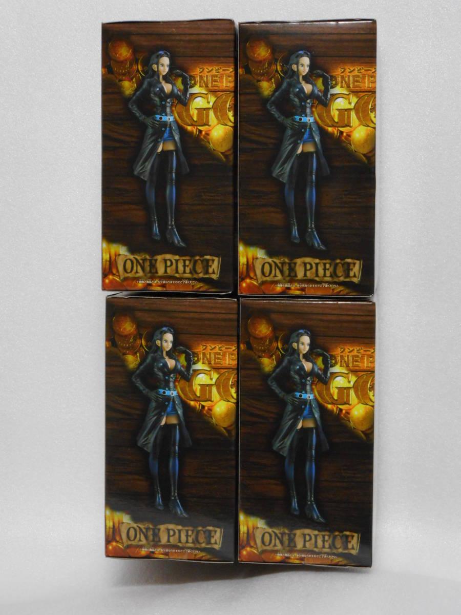 ワンピース フィギュア DXF THE GRANDLINE LADY FILM GOLD vol.2 ニコ・ロビン 4個セット 新品_画像4