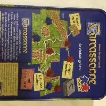 カルカソンヌ 2人用 carcassonne ボードゲーム_画像2