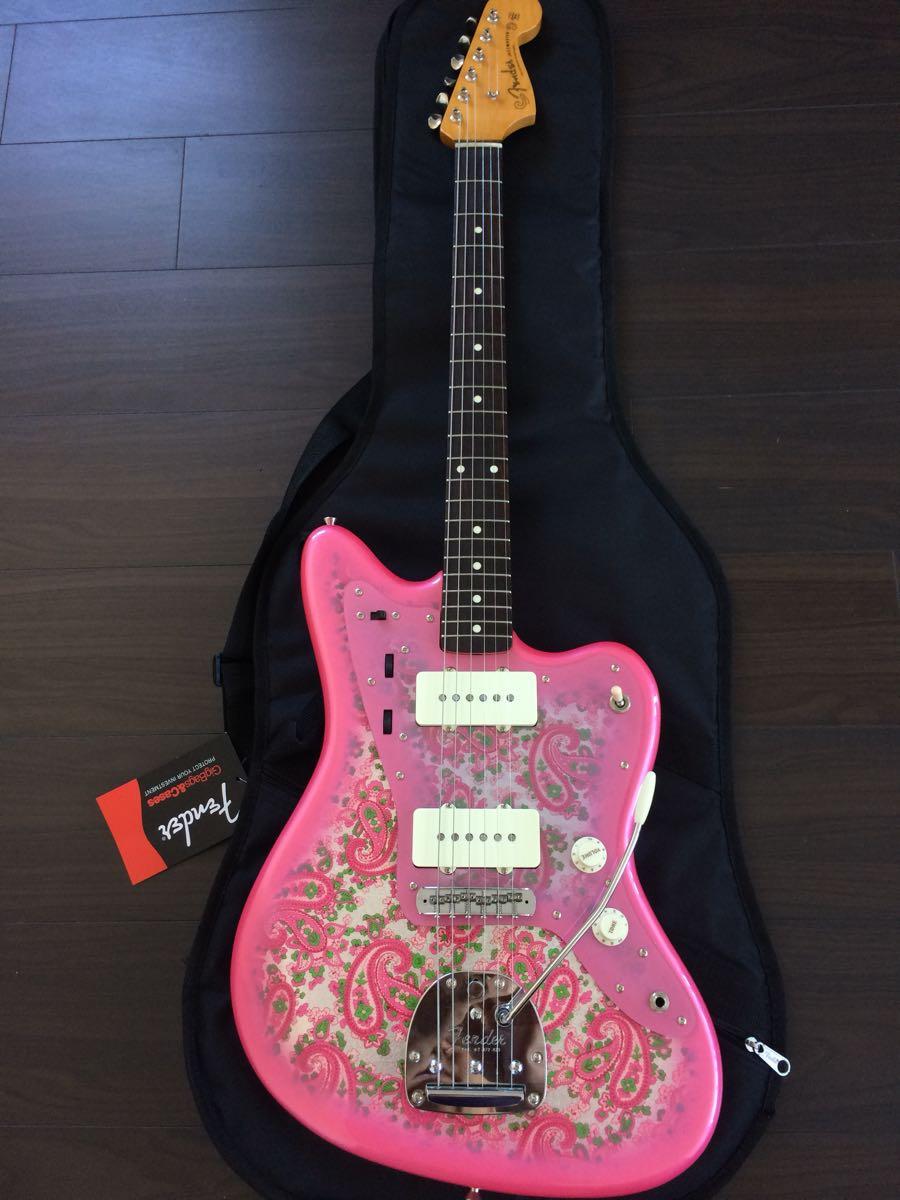 美品 FenderJapan Traditional 60s Jazzmaster Pink Paisley_画像2